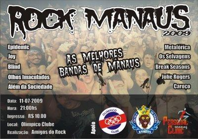 Dia Mundial do rock em Manaus!!!!