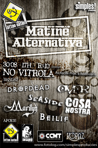 Matinê Alternativa - Vitrola 2